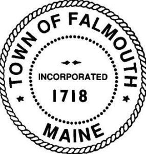 Town of Falmouth Maine seal